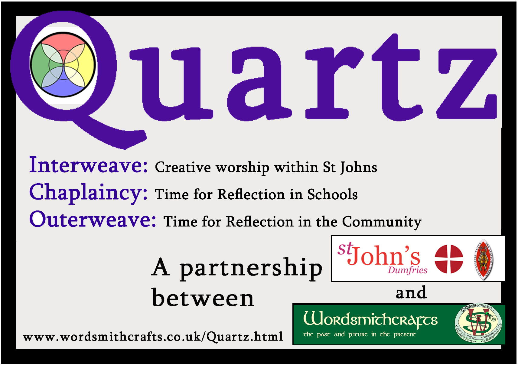 The quartz logo